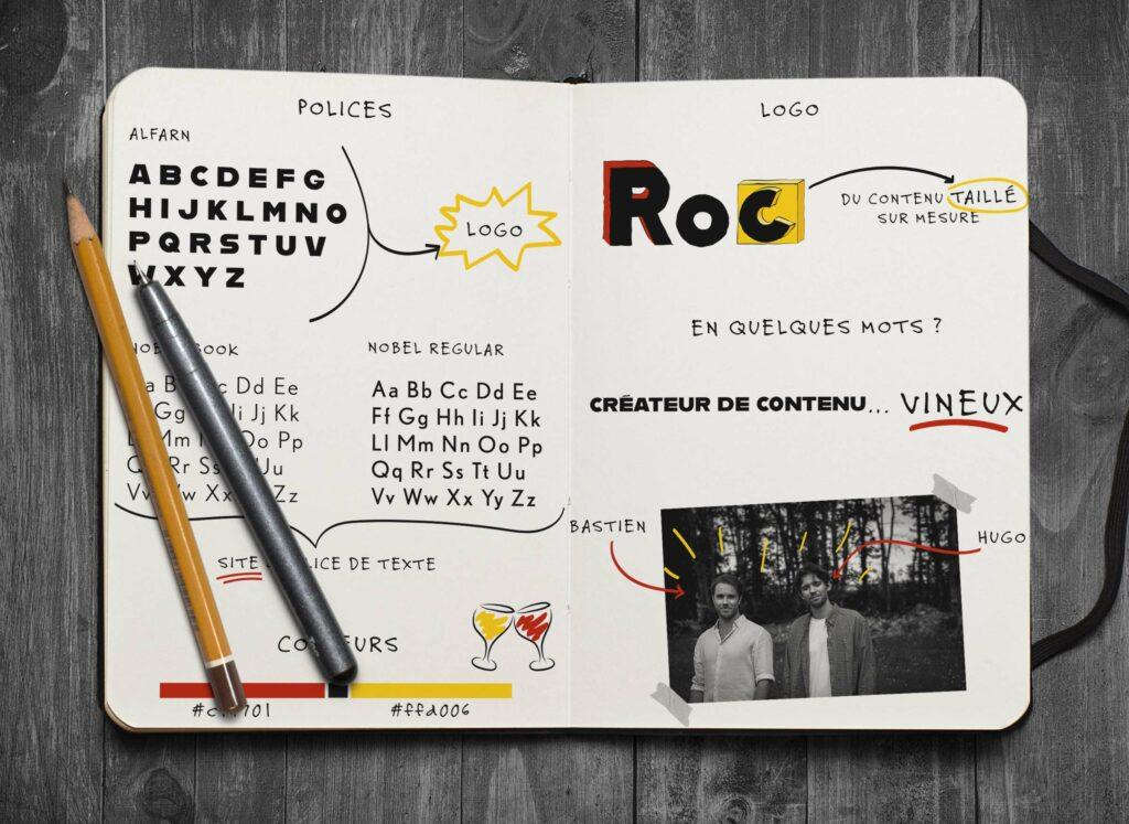 carnet de note agence roc vin vins