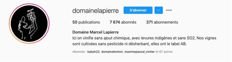 Bio-Instagram-Domaine-Lapierre-Beaujolais
