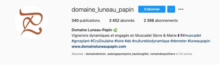 Bio-Instagram-Domaine-Luneau-Papin-Muscadet